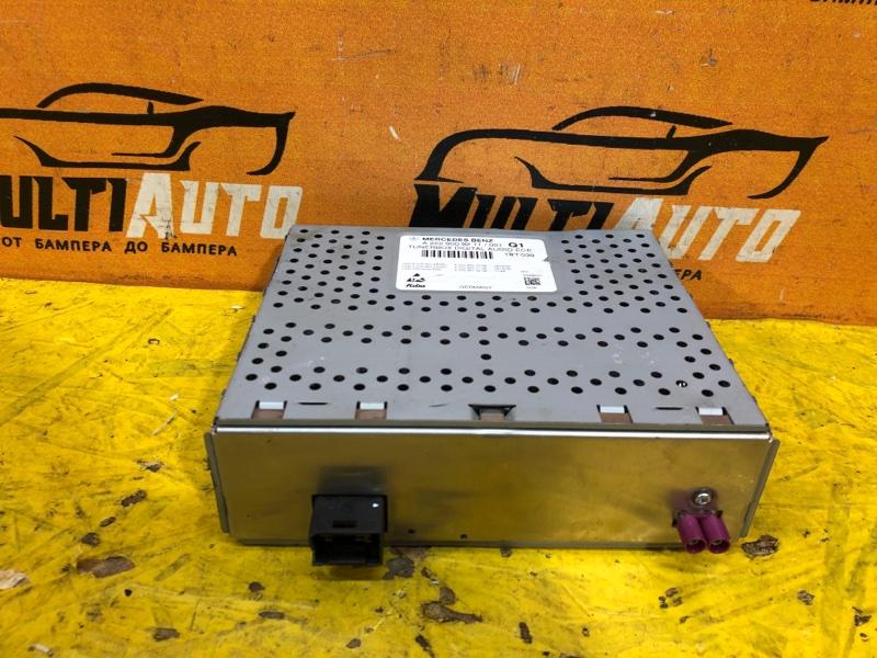 Блок управления радио Mercedes