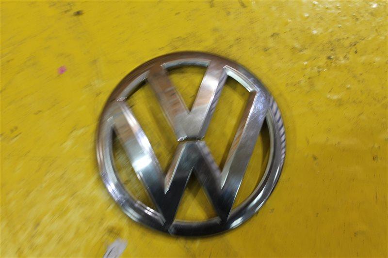 Эмблема решетки радиатора Volkswagen Tiguan 2007 передняя