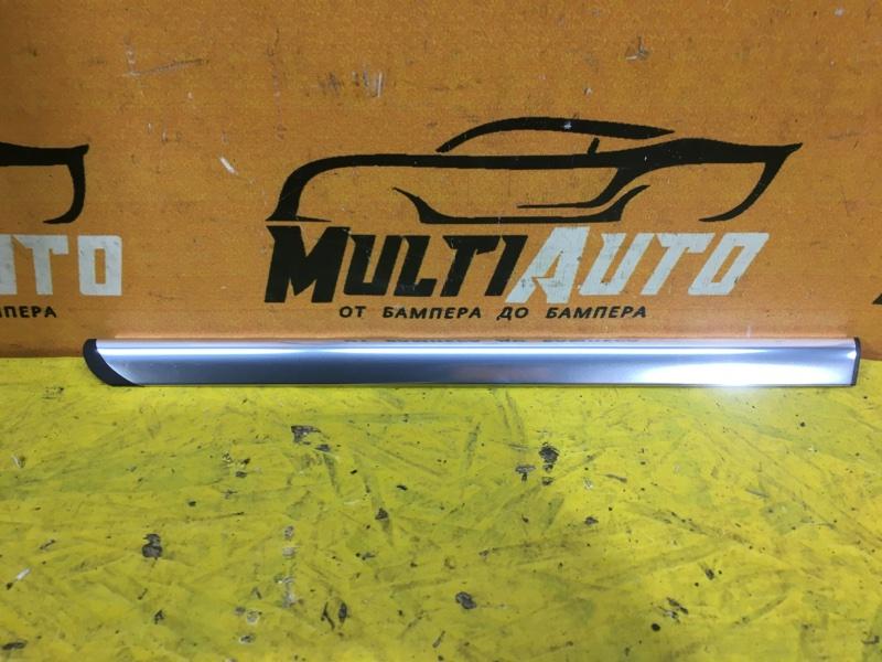 Накладка стекла двери Mercedes Glk X204 2008 задняя левая