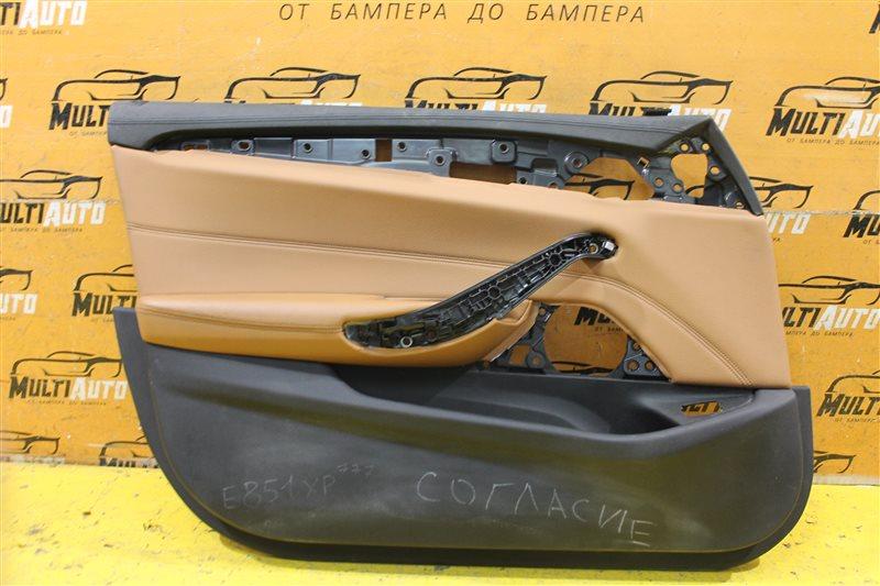 Обшивка двери Bmw 5 Series G30 2016 передняя левая