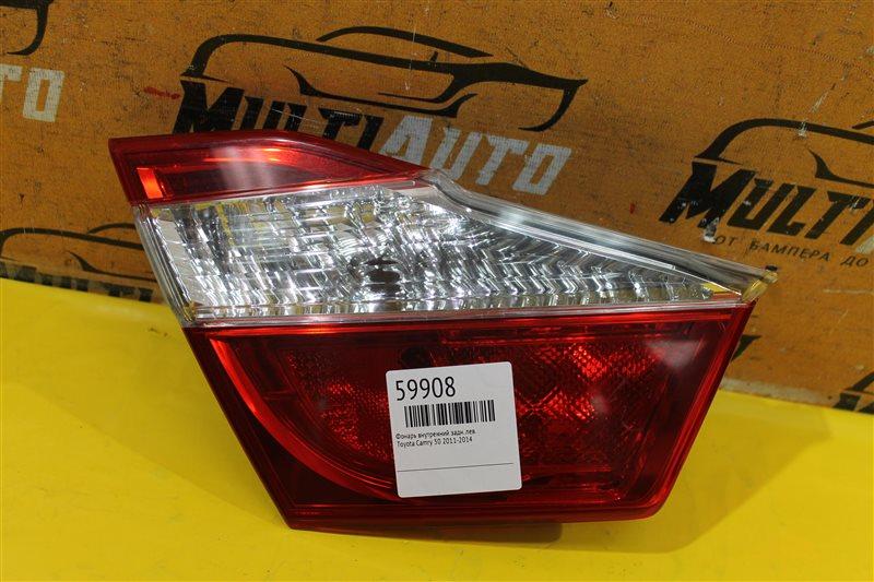 Фонарь внутренний Toyota Camry 50 2011 задний левый