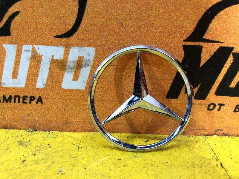 Эмблема крышки багажника Mercedes