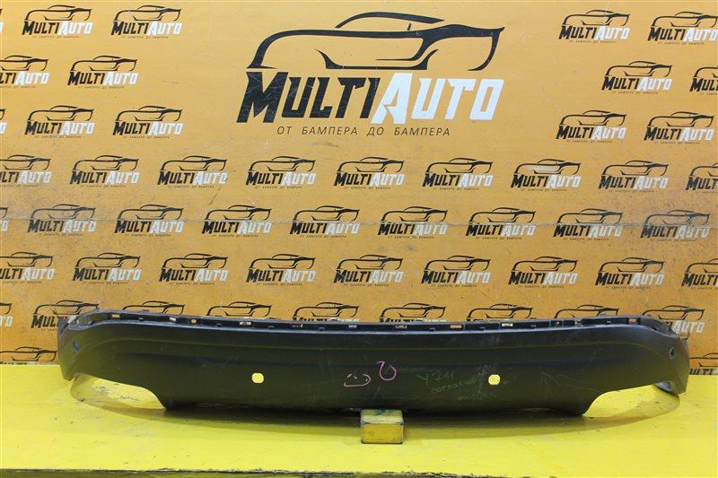 Юбка бампера Nissan Murano Z52 2014 задняя