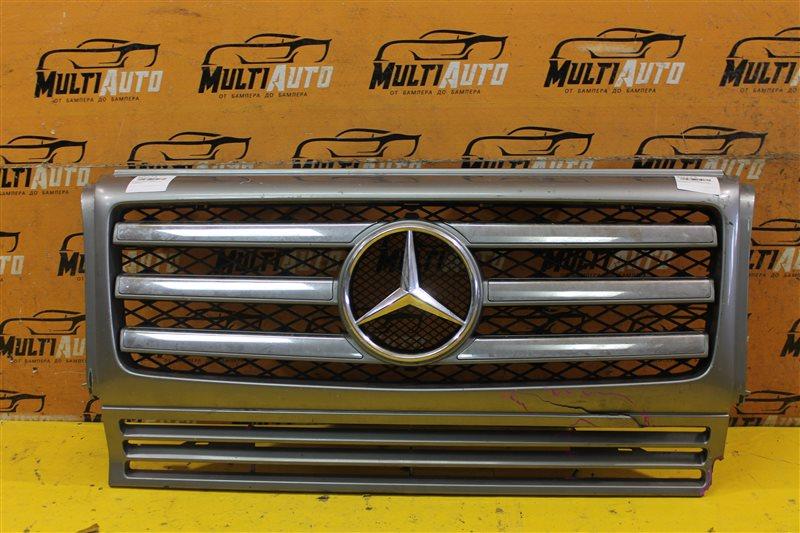 Решетка радиатора Mercedes G-Classe W463 2012 передняя