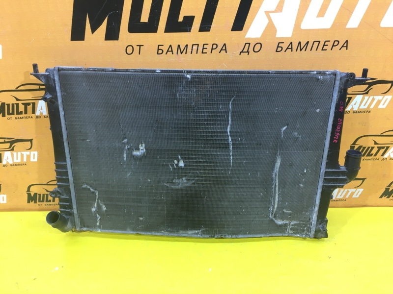 Радиатор основной Lada Largus 1 2012