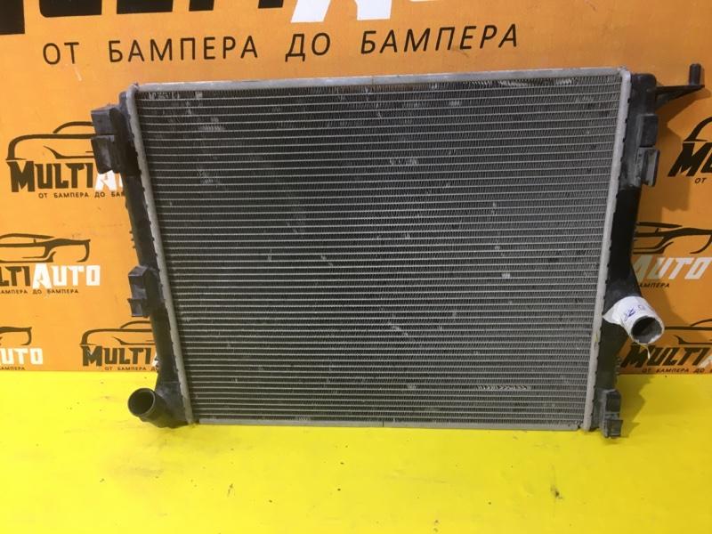 Радиатор охлаждения двигателя Renault Logan 1 2009