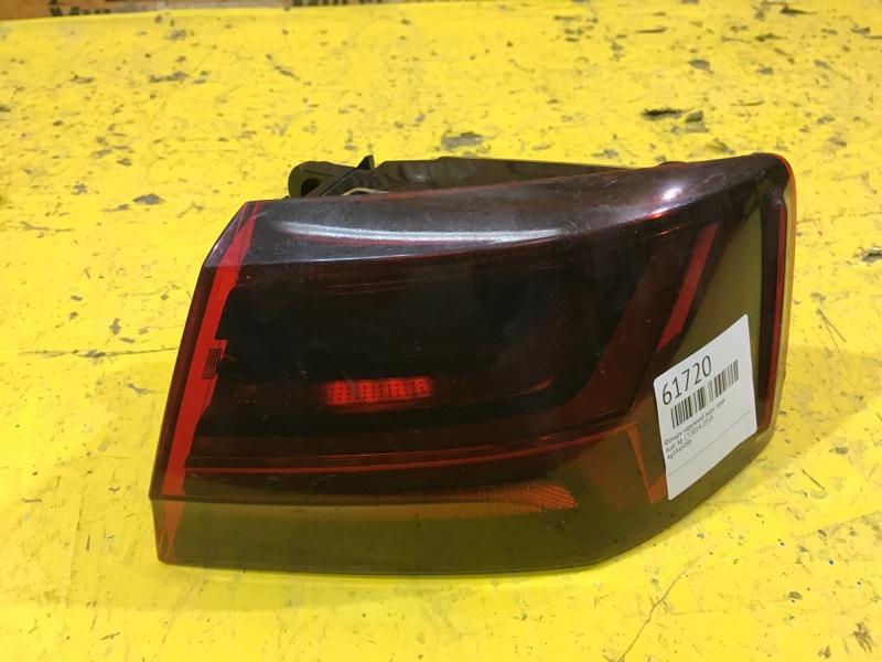 Фонарь наружний Audi A6 С7 2014 задний правый