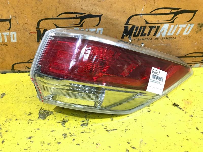 Фонарь наружний Toyota Highlander 3 XU50 2013 задний правый