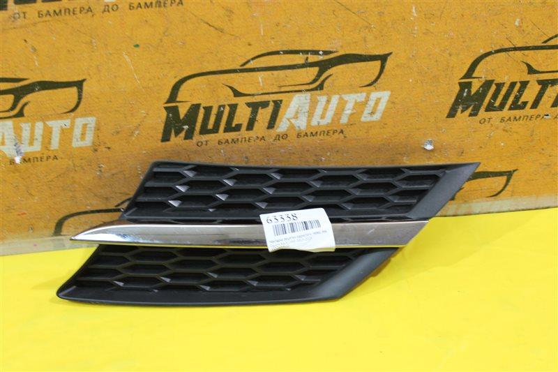 Накладка решетки радиатора Toyota Rav4 CA40 2013 передняя левая