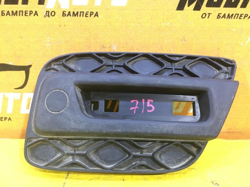 Накладка бампера Renault Duster 2 STEPWAY 2013 задняя левая