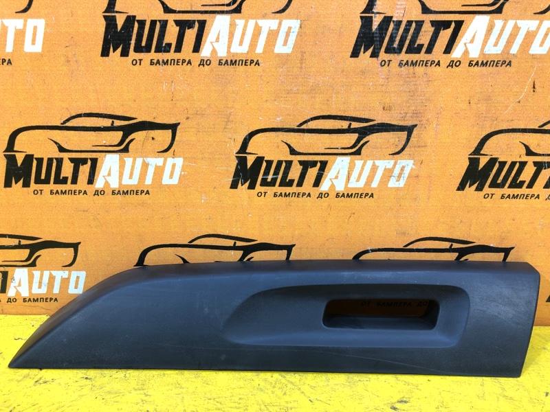 Накладка рейлинга Renault Duster 1 2015 задняя