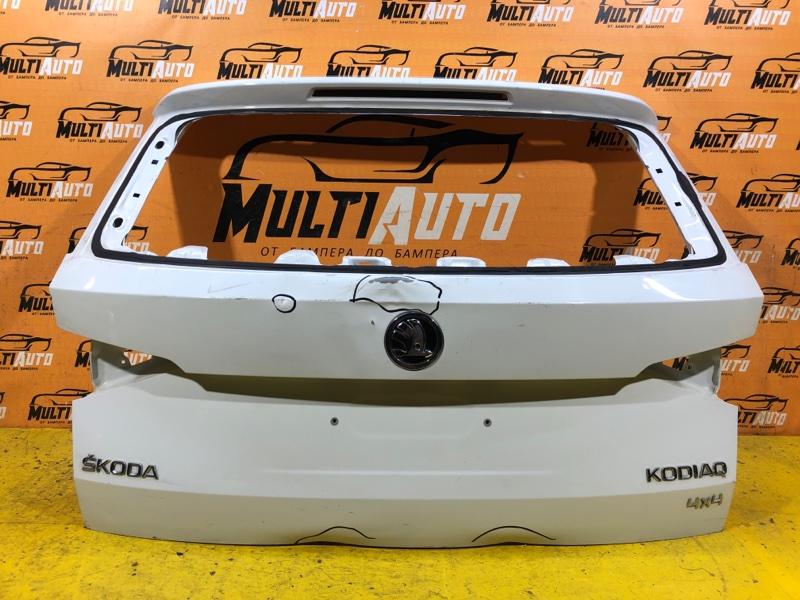 Крышка багажника Skoda Kodiaq 1 2016