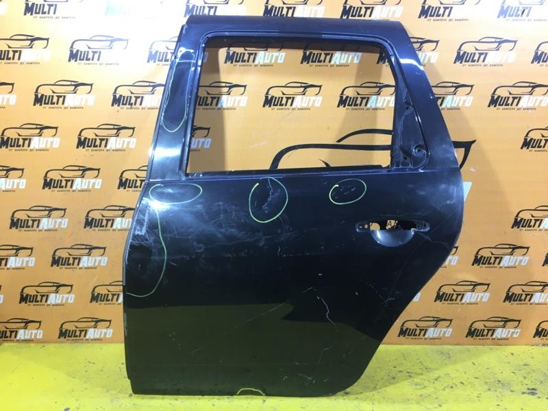 Дверь Renault Duster 1 2010 задняя левая