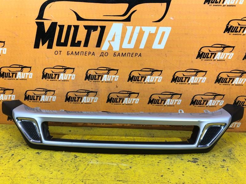 Юбка бампера Mitsubishi Outlander 3 2018 передняя