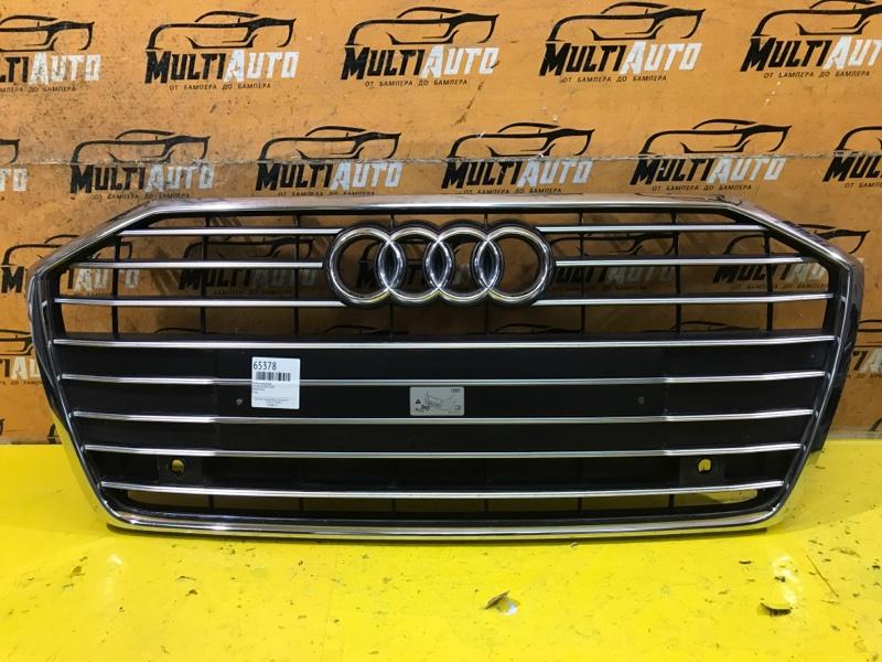 Решетка радиатора Audi A6 C8 2018