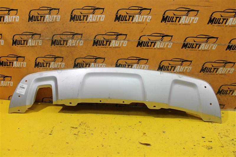 Накладка бампера Renault Duster 1 2010 задняя