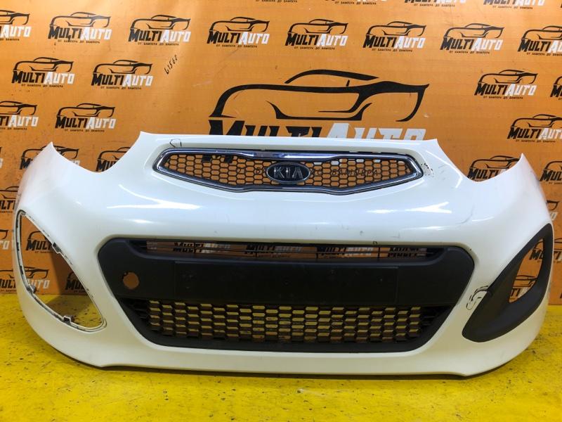 Бампер Kia Picanto 2 2011 передний