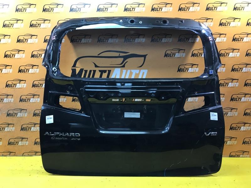 Крышка багажника Toyota Alphard 3 2015