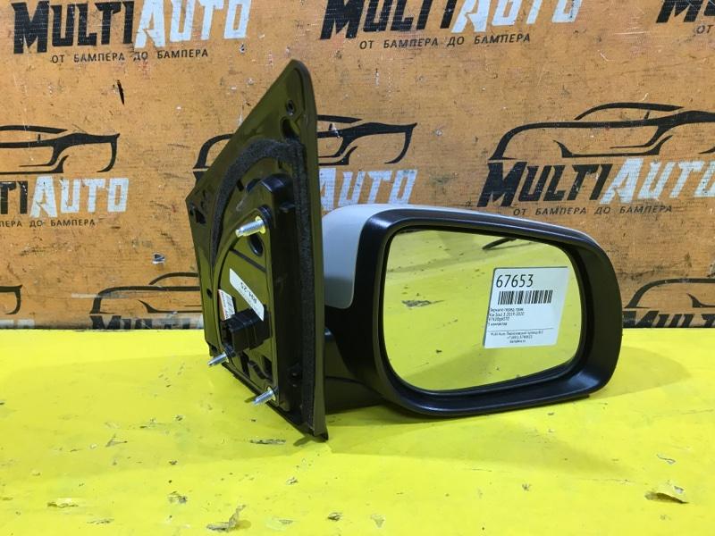 Зеркало Kia Picanto 2 2011 переднее правое