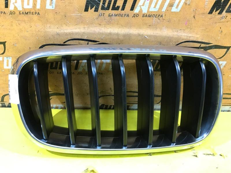 Решетка радиатора Bmw X5 F15 2013 передняя правая