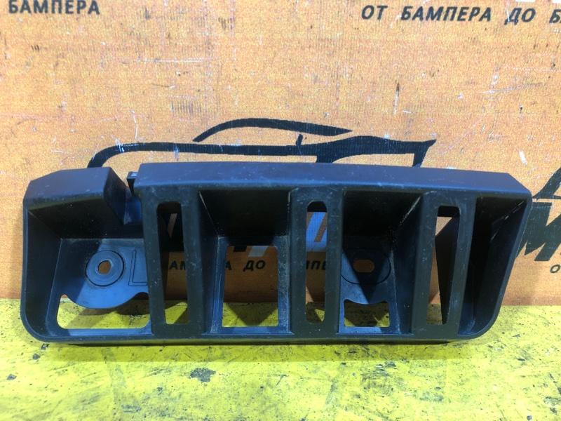 Кронштейн бампера Skoda Rapid 1 2012 задний левый
