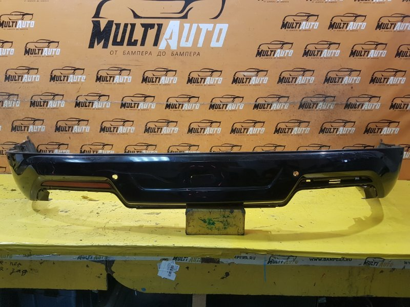 Юбка бампера Ford Explorer 5 2017 задняя