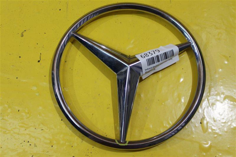Эмблема решетки радиатора Mercedes Ml W166 2011 передняя