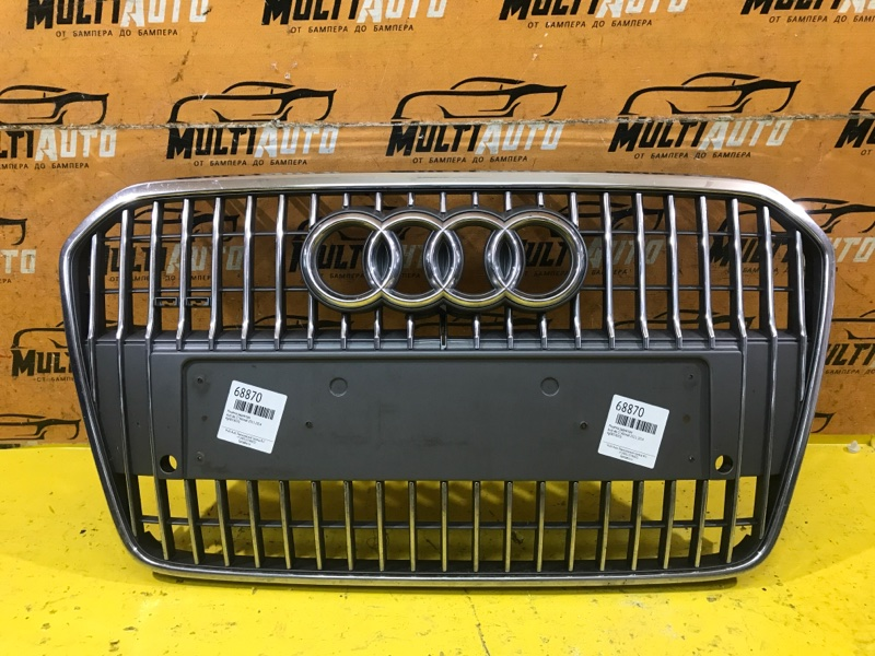 Решетка радиатора Audi A6 C7 ALLROAD 2011