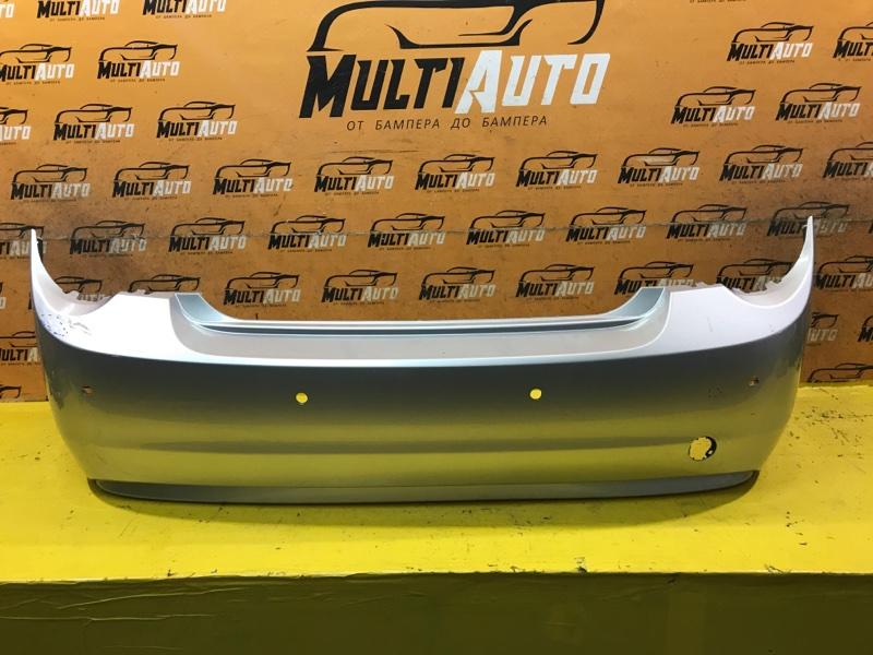 Бампер Chevrolet Aveo T300 СЕДАН 2011 задний