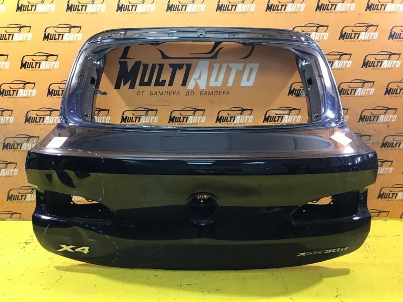Крышка багажника Bmw X4 G02 2018