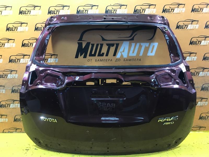 Крышка багажника Toyota Rav4 CA40 2015