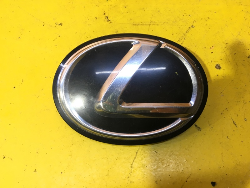 Эмблема решетки радиатора Lexus Rx 3 2008