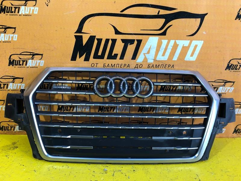Решетка радиатора Audi Q7 4M 2015