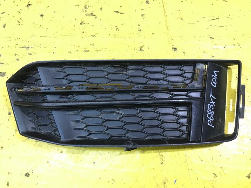 Решетка в бампер Audi A4 B9 S-LINE 2015 передняя правая