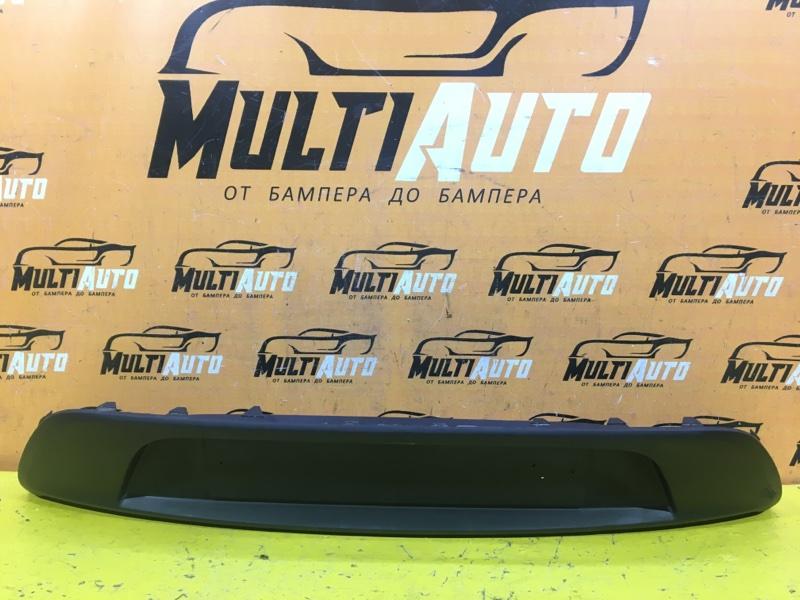 Накладка багажника Kia Rio 4 СЕДАН 2017 задняя
