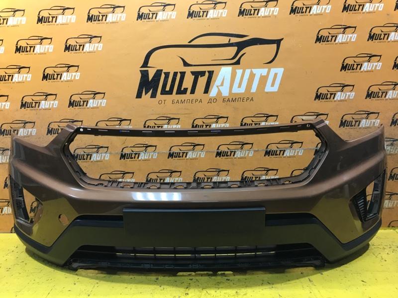 Бампер Hyundai Creta 1 2016 передний