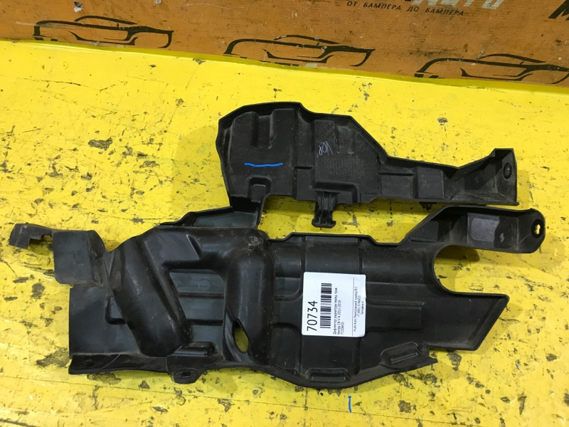 Дефлектор радиатора Honda Cr-V 4 2012 передний правый