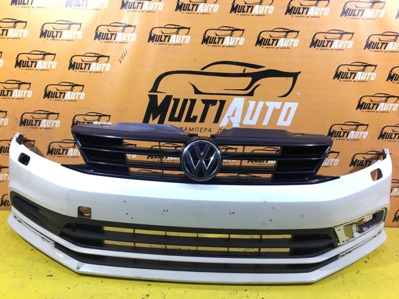 Бампер Volkswagen Jetta 6 2014 передний