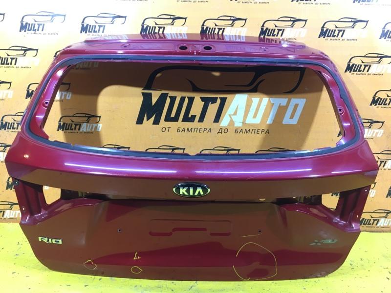 Крышка багажника Kia Rio 4 X-LINE 2017