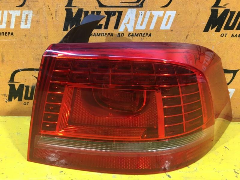 Фонарь наружний Volkswagen Passat B7 2011 задний правый