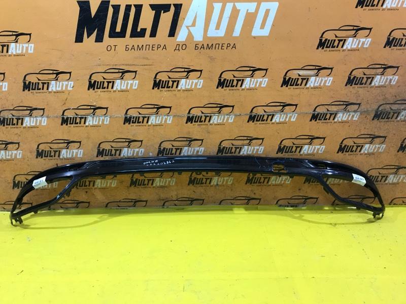 Накладка бампера Ford Mondeo 5 ХЭТЧБЕК 2014 задняя