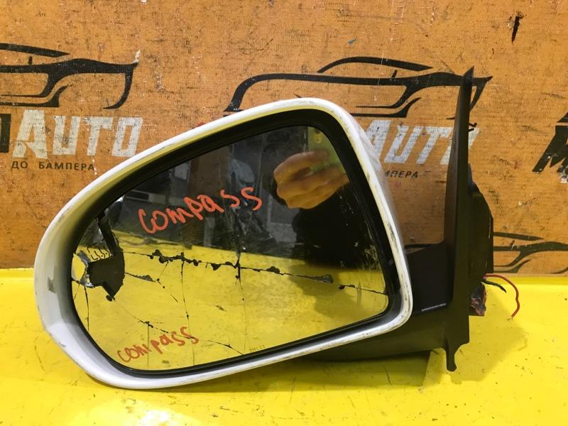 Зеркало Jeep Compass 1 2010 переднее левое