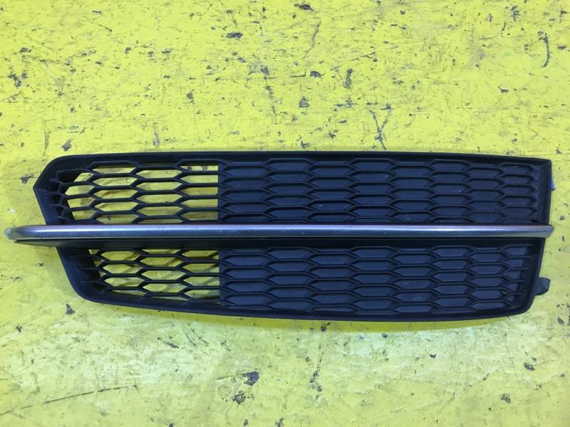 Решетка в бампер Audi A6 C7 2011 передняя правая