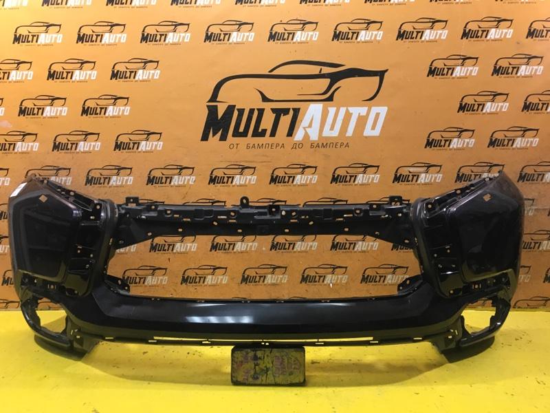 Бампер Mitsubishi Pajero Sport 3 2015 передний