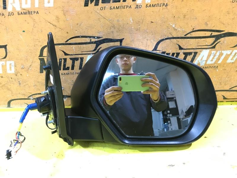 Зеркало Mitsubishi Pajero Sport 3 2015 переднее правое
