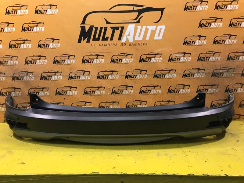 Юбка бампера Honda Cr-V 5 2016 задняя