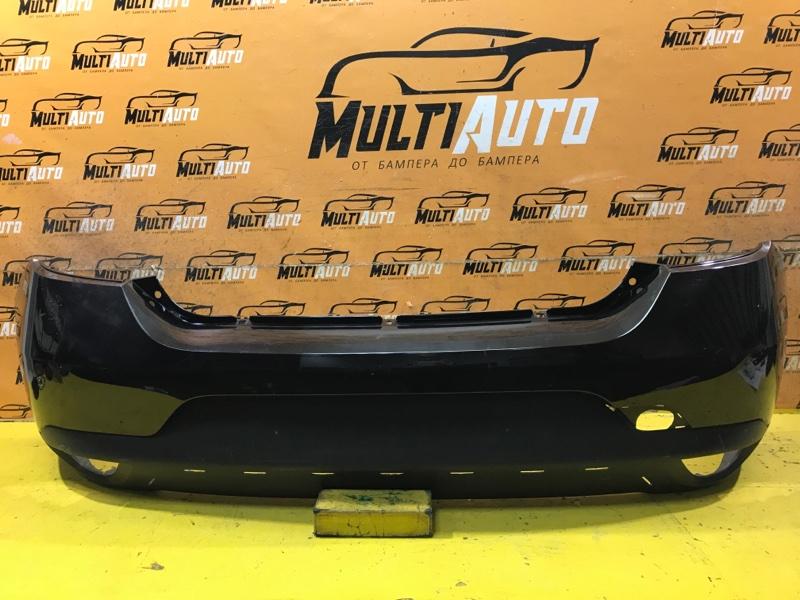 Бампер Renault Logan 2 STEPWAY 2018 задний