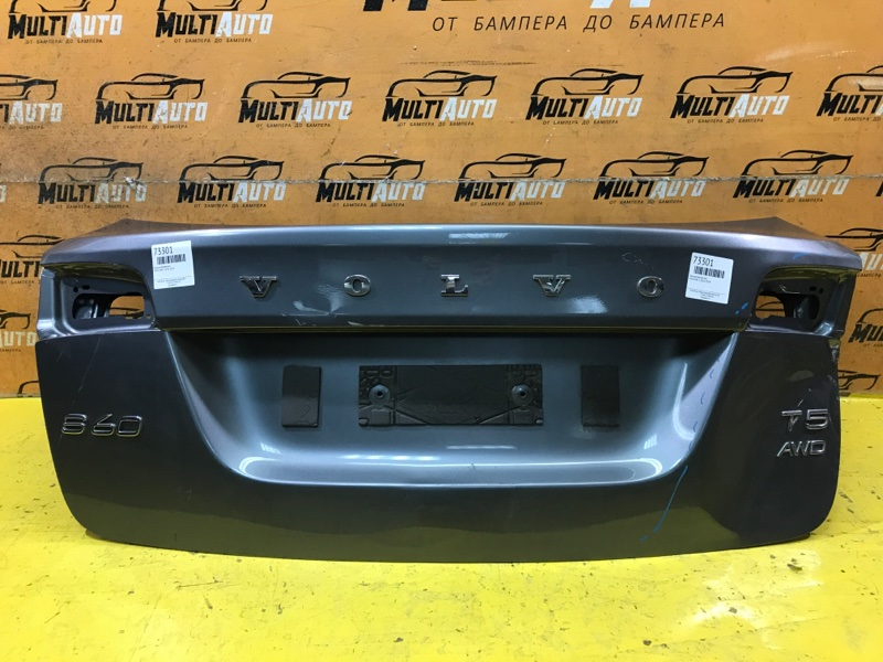 Крышка багажника Volvo S60 2 2010