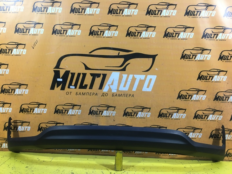 Юбка бампера Hyundai Solaris 2 2017 задняя