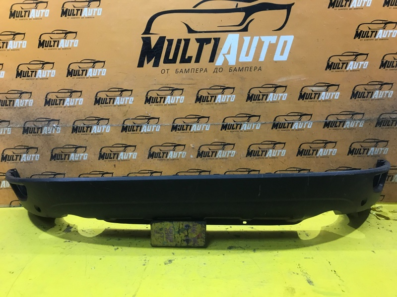 Юбка бампера Volvo Xc60 1 2008 задняя